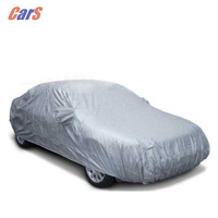 BEST Durable Nylon Car Covers Car Sunshade Sunproof Dust Proof Rain Resistant Protective Car Cover For