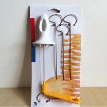 Kitchen Accessories Tornado Potato Spiral Cutter Slicer Home Kitchen Potato Making Twist Shredder Cooking Tools