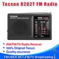 Бесплатная доставка! TESCUN портативный R202T R-202T FM AM MW ТВ Радиоприемник Карманный Кампус радио