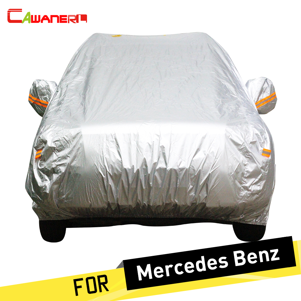 Cawanerl Full Car Cover Rain Sun Snow Resistant Cover For Mercedes Benz C180 C200 C220 C230 C350 C160 C320 C280 C300 C250 C260Cawanerl Full Car Cover Rain Sun Snow Resistant Cover For Mercedes Benz C180 C200 C220 C230 C350 C160 C320 C280 C300 C250 C260