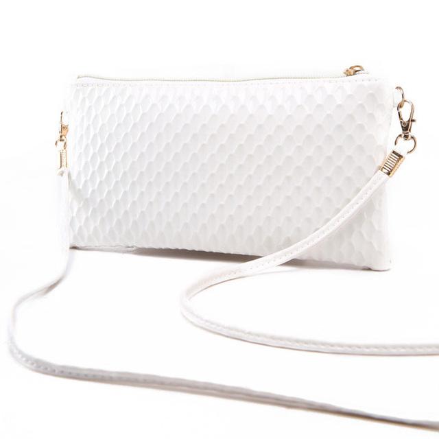Bolso de hombro pequeño con diseño de serpentina para mujer, bolso de mensajero de cuero de PU suave de alta calidad, bolso Casual para teléfono, bolso de verano