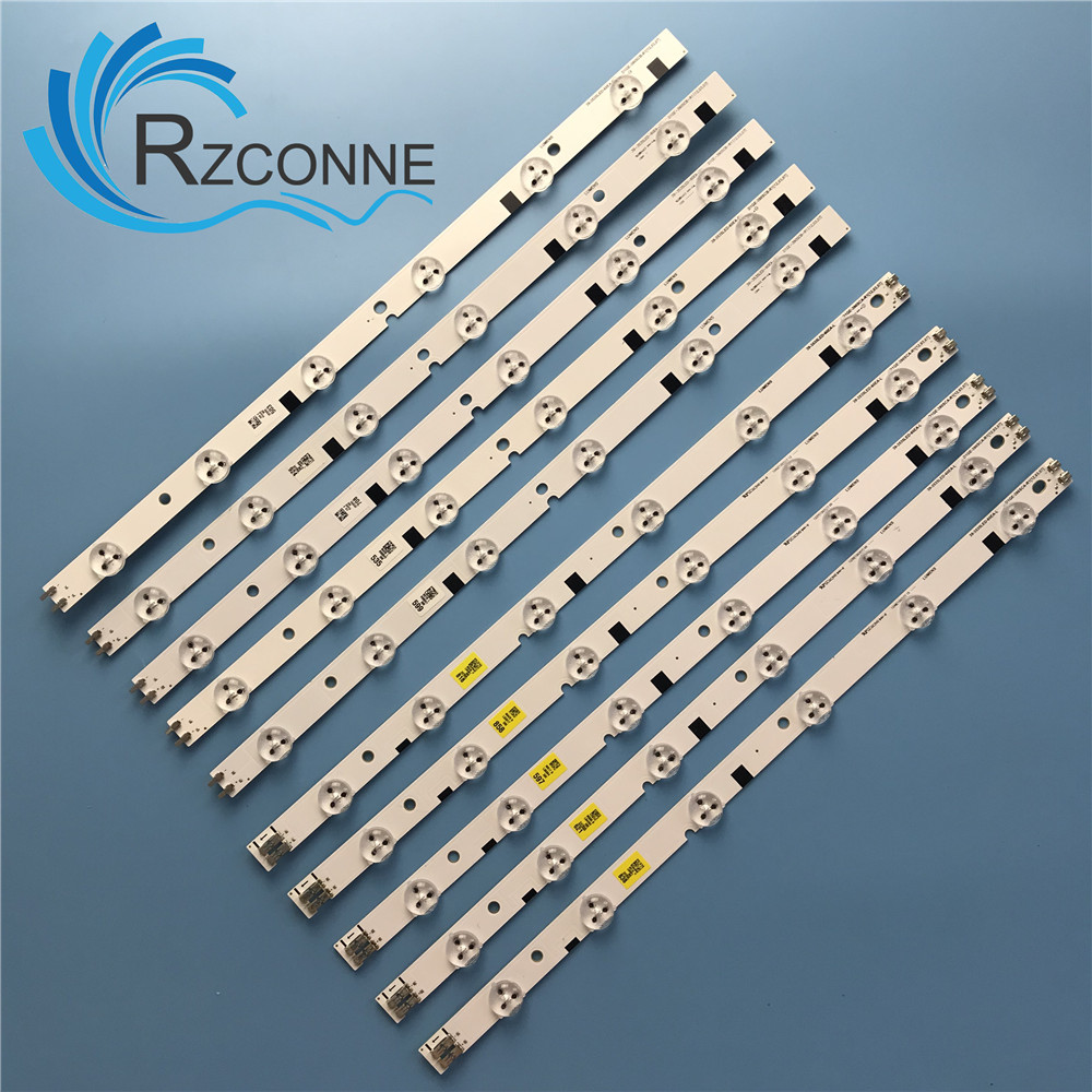 LED Backlight Strip 12 Lamp For UN39FH500F D1GE-390SCB-R1 D1GE-390SCA-R1 39-3535LED-60EA-L UA39EH5003R DE390BGA-V1 BN41-01824A