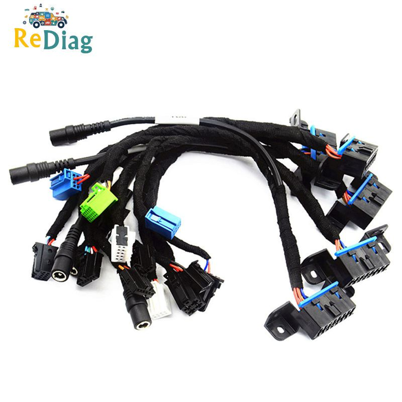 VDIFUL EIS ELV Test Cables for Mercedes Works Together with VVDI MB BGA TOOL and CGDI Prog MB  5-in-1  W204 W212 W221 W164 W166