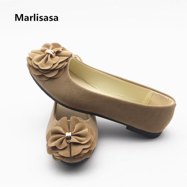 Marlisasa Women Cute Light Weight Red Flat Shoes Lady Casual Round Toe Shoes Female Cool Office Shoes Zapatos De Mujer F231