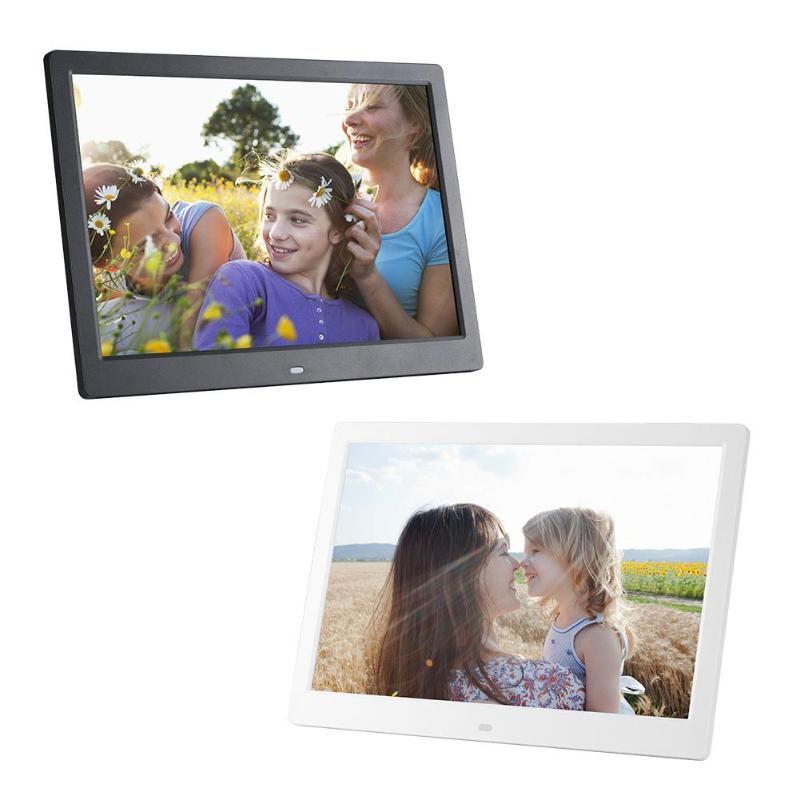 VODOOL 13 дюймов цифровая фоторамка HD 1280X800 светодио дный Дисплей воспроизведения электронный альбом Аватар Фильм плеер сроки будильник