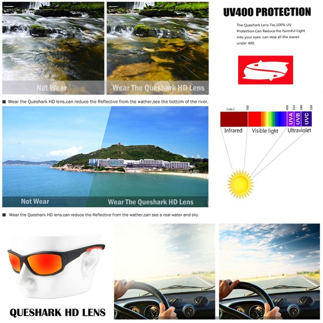 Men Polarized Fishing Sunglasses