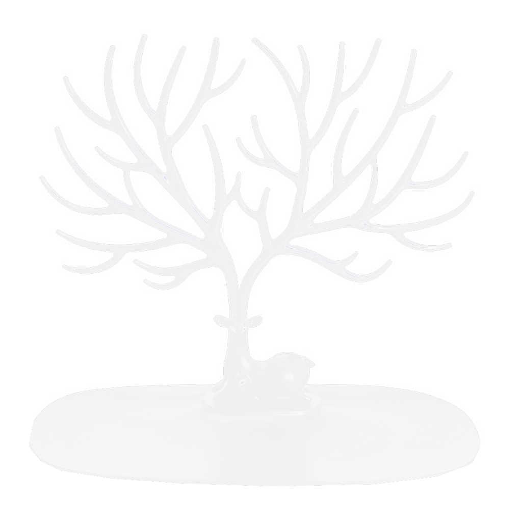 Cerf boucles d'oreilles collier anneau pendentif Bracelet bijoux présentoir plateau arbre supports de rangement organisateur bijoux étagère support
