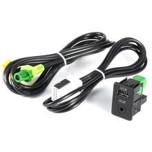RCD510 + 310 + 300 + Cable Para VW MK6 RNS315 Interruptor AUX USB Para el Golf Jetta Para CC Para PASSAT B6 B7