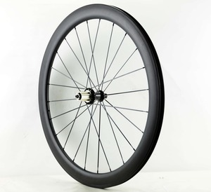 Image 3 - Ücretsiz kargo 700C 38/50/60/88mm derinlik yol karbon tekerlekler 25mm genişlik kattığı bisiklet tek arka tekerlekler UD mat finish