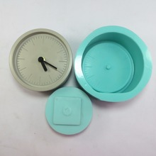 przy SN0012 3d clock mold (a lot 2 pcs) Silicone cement concrete silicone hand-made resin clay home decoration molds