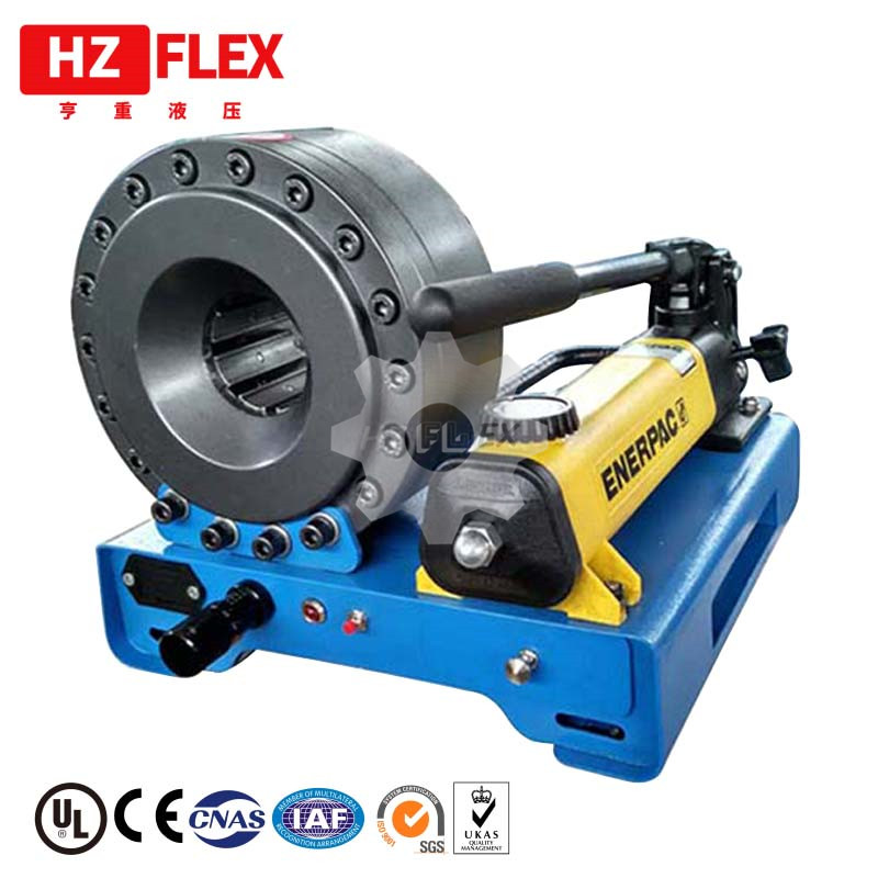 Made in China P16HP 1 inch hand hydraulic hose crimping machine price in uae manual hose crimper with full sets of dies|Hydraulic Tools| |  - title=