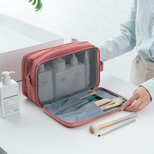 Image 3 - Waterproof Travel Storage Bag Dry Wet Separation Wash Bag Washable Multi Function Organizer Bags for Hiking Travelling Women Men
