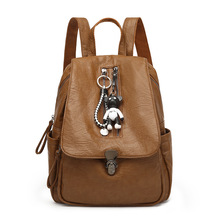 2018 new Genuine cow skin leather women casual small packet preppy style girls rucksacks female shopping bags ladies backpacks купить дешево онлайн