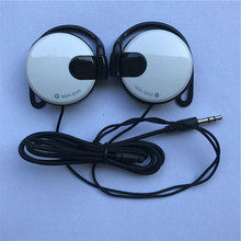 Sports Ear Hook Headset 3.5mm Stereo Earphone Bass Headphone Without Microphone For Mp3 Mp4 Phone