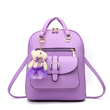 Double Shoulder Bag 2017 New Trend Women s Spring And Summer Sweet Lady Backpack Style Student