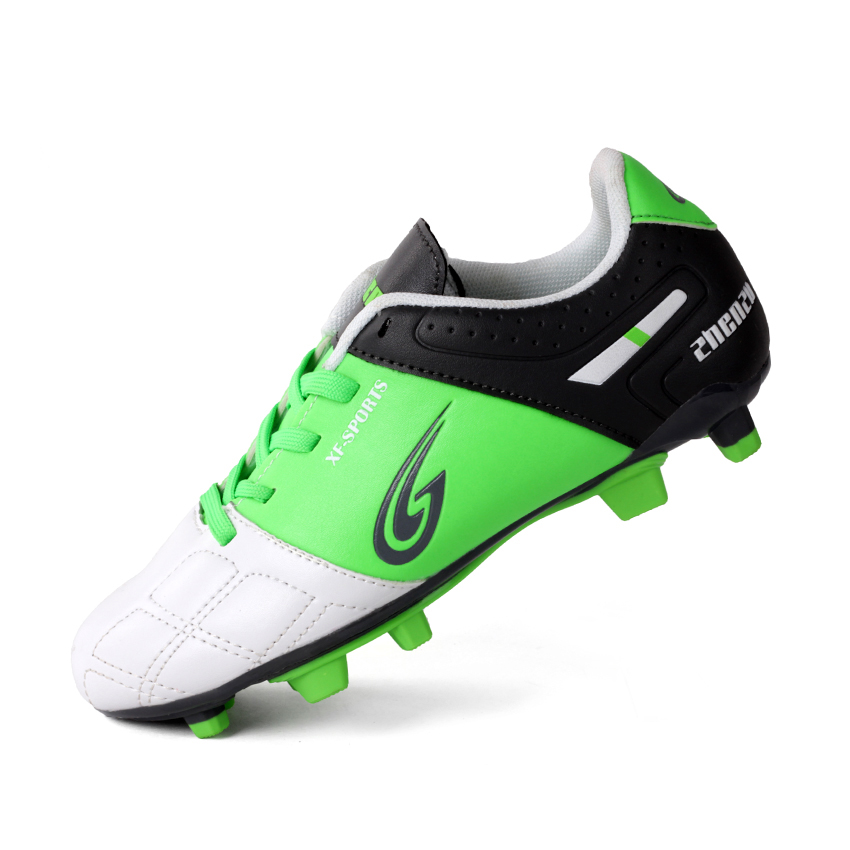 Boys Long Nail Children Soccer Shoes Good Quality Professional Outdoor Training Soccer Shoes For Kids tiebao soccer sport shoes football training shoes slip resistant broken nail professional sports soccer shoes