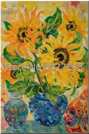 Flowers Diamond Mosaic Diy diamond painting Watercolor sunflower cross stitch full Resin embroidery rhinestone
