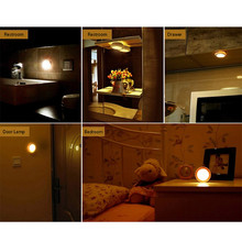 Wireless Battery Powered Infrared LED Night Lamp