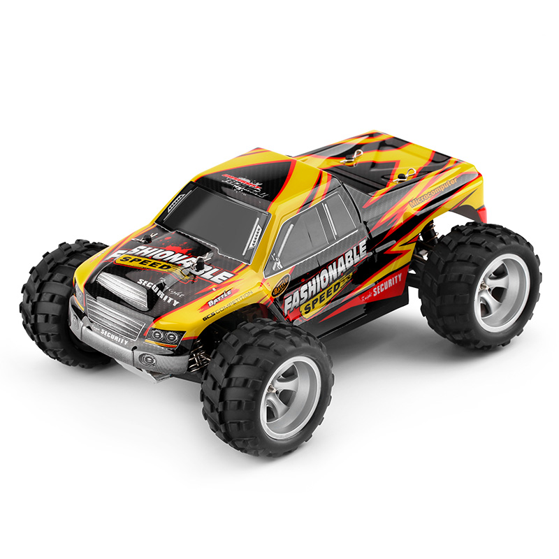 Original Electric 1:18 4WD 4CH Big Foot RC Car with 35KM/H High Speed SUV Rock Crawler Off Road Racing Cars Toy for Boys rgt 136100 electric racing 4wd off road rock crawler rc car rock cruiser rc 4 climbing 1 10 scale hobby remote control car