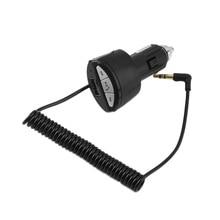AUX de 3.5mm Manos Libres de Coche Bluetooth Estéreo Adaptador Del Receptor de Audio con Cargador USB Venta Caliente