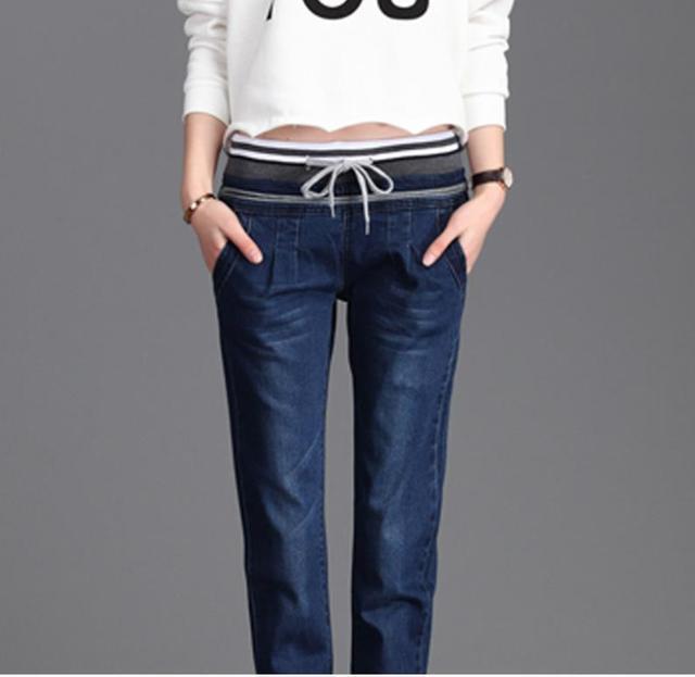 7edfe3f65a Caliente 2019 pantalones de Otoño de las mujeres Jeans Stretch Skinny  Pantalón elástico de Jean de