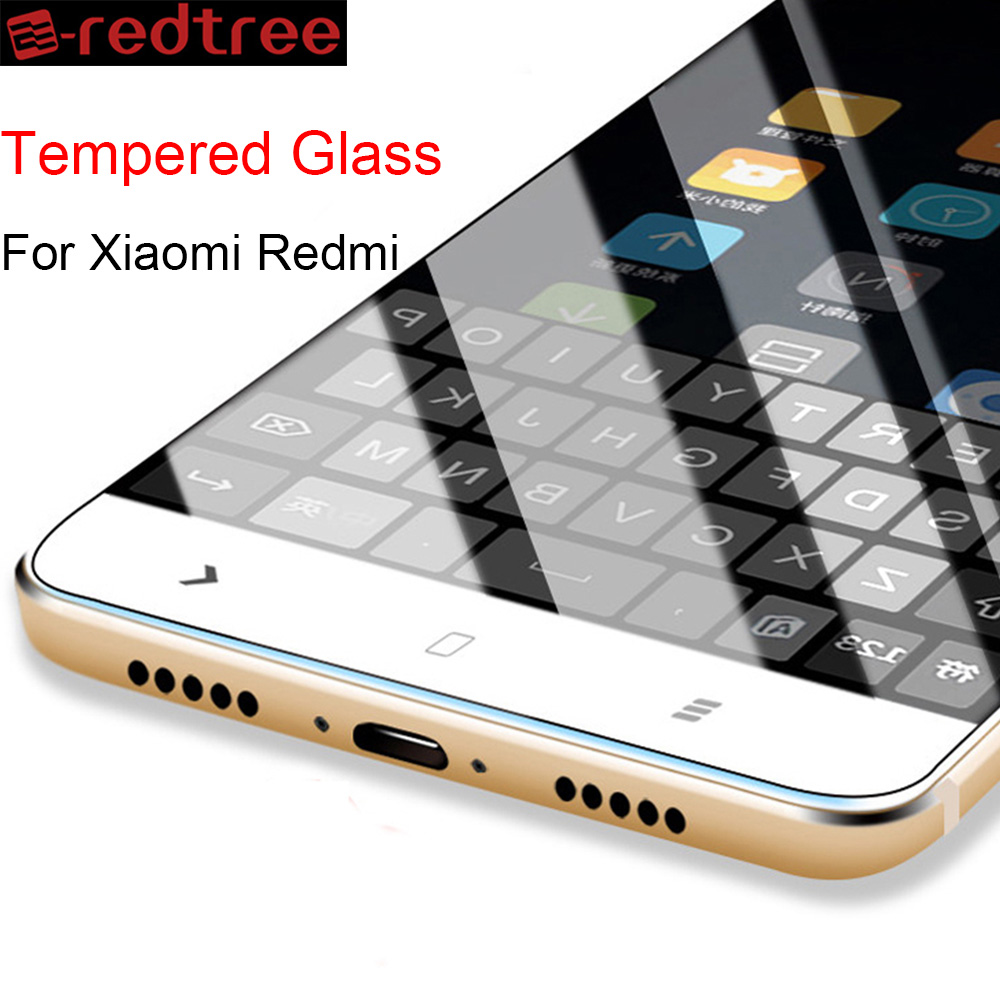 Tempered Screen Protector For Xiaomi Redmi 4 4X 4A Prime 3 Pro 2.5D 9H Tempered Glass Film For Redmi Note 4 4X Pro Phone Film