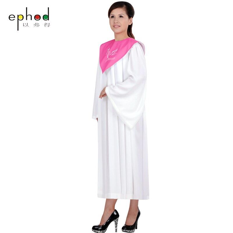 Высокое качество христианской церкви платье носить греческие класса Услуги одежда Свадебная гимн Святой одежды монахиня Костюм Кристиан п...