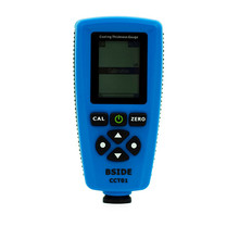 Digital Coating Thickness Gauge RUSSIAN EDITION AUTO Thickness Meter High Accuracy Width Measuring Instruments