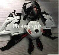 ABS Body Kit For Aprilia RS 125 Fairings Black white 2001 2002 2003 2004 2005 RS125 01 02 03 04 05 Motorcycle Fairing Set
