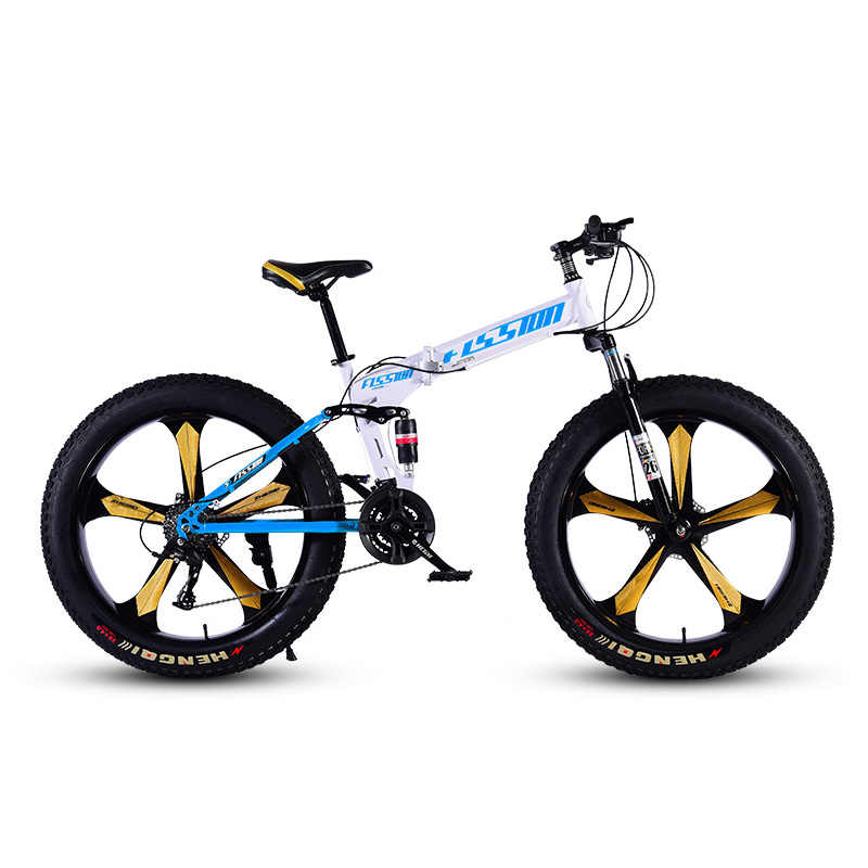 Снегоходы, пляжный велосипед, 5 ножей, колеса 26 дюймов, Высокоуглеродистая Сталь, жесткая рама, для езды на снегу 21 24 27 скоростей