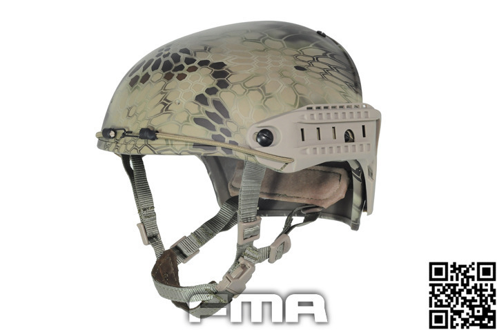 FMA CP Two-in-one Helmet Protect Type Tactic Helmet Highlander Watermelon Color TB762