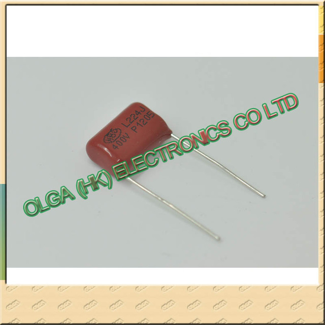 Into the capacitor CBB capacitors 400 v 224 j 220 nf 0.22 UF P15 10 new racket