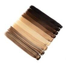 """Doreen Hair 80 г до 200 г 1"""" до 26"""" Искусственные волосы одинаковой направленности Hola волосы для наращивания флип в человеческих волос без клипсов 1 шт./компл"""