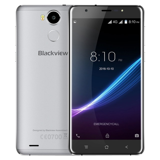 "Original Blackview R6 4G FDD LTE 5.5"" FHD Mobile Phone MTK6737 Quad-core Android 6.0 Smartphone 3GB 32GB Dual SIM GPS Cellphone"