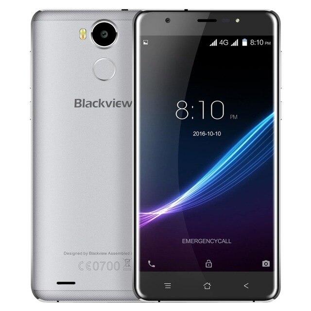 "Original Blackview R6 4G FDD LTE 5.5"" FHD Mobile Phone MTK6737 Quad-core Android 6.0 Smartphone 3GB 32GB Dual SIM GPS Cellphone"
