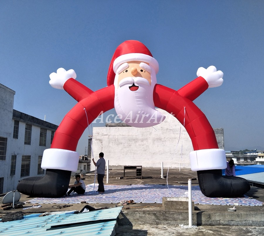 Cheap 20 Ft Outdoor Advertising Air Blown Inflatable Santa Claus Arch For Christmas Yard Decoration Arch Arch Inflatablearch Decor Aliexpress