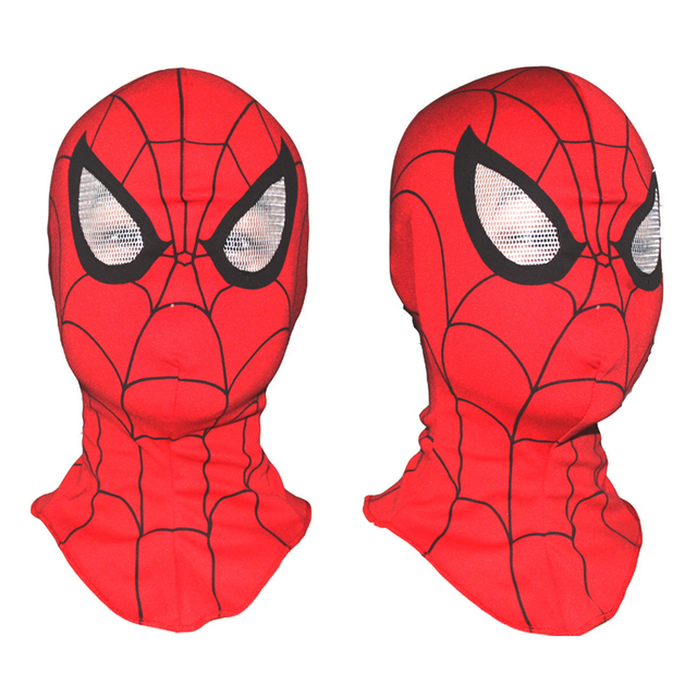 Adult and Kids Spider-Man Spider Man Mask Spiderman Hood Halloween Christmas Party Cosplay Costumes Children Christmas Gifts