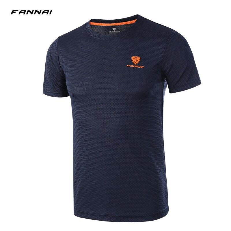 Estilo de verão design atlético camisa de futebol camisa de corrida masculina camiseta o pescoço manga curta camiseta superior camiseta plus size M-4XL