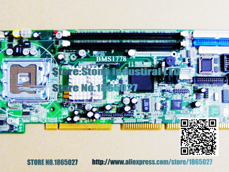 ФОТО 865G 775 industrial motherboard BMS1778   775-pin CPU board 100% test