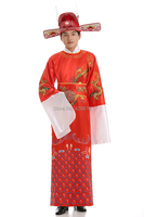 2016 Clothes annual meeting of company Chinese Folk Dance Costume China ancient Mammon clothes