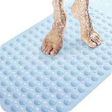 """PVC massage de dérapage tapis de bain avec ventouses 14.9 """"Wx29.1"""" L/38×74 cm Livraison Gratuite"""