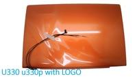 Laptop LCD Top Cover For Lenovo U330 U330P 90203125 3CLZ5LCLV70 Orange 3CLZ5LCLV00 90203126 Gray Back Case New Original NO Touch