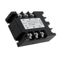 AC To AC Three 3 Phase Solid State Relay SSR 40A 90 280VAC 380V AC