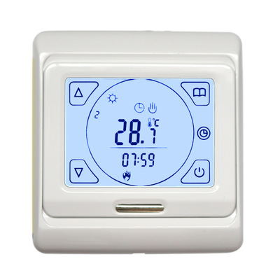 M9.716 Hvac 16a Touch Screen Weekly Programming Floor Heating Temprature Switch Thermostat