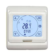 цены M9.716 HVAC 16A Touch Screen Weekly Programming Floor Heating Temprature Switch Thermostat