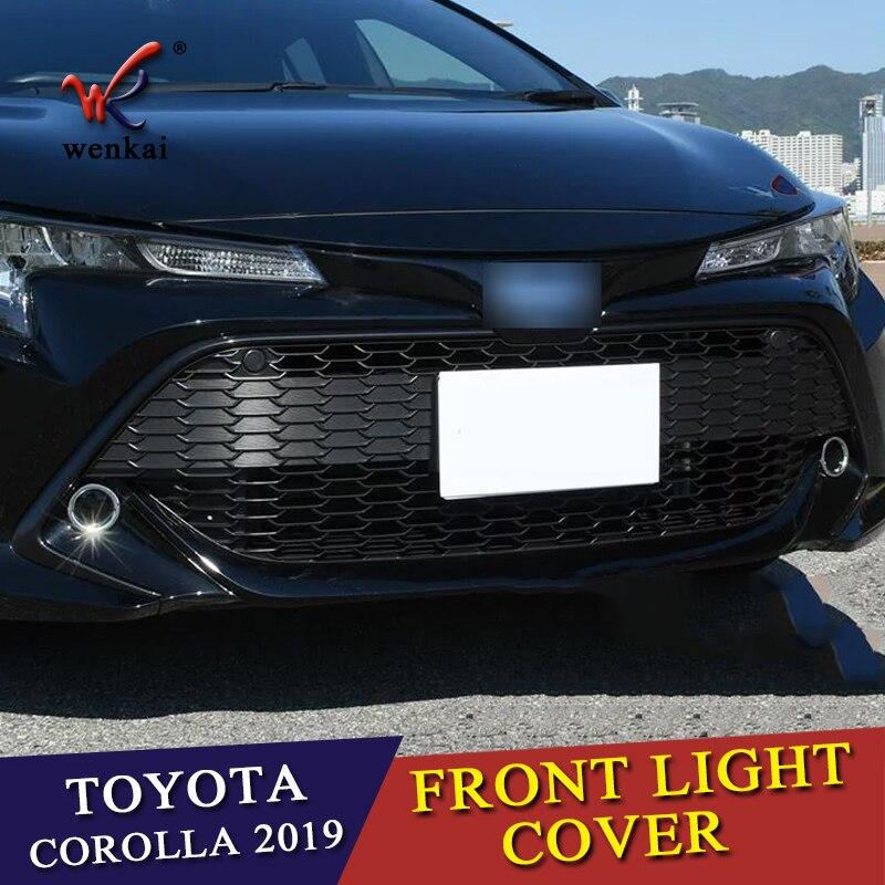 For Toyota Corolla Sport Hatchback E210 2019 Car Rear Fog Light Lamp Cover Trim