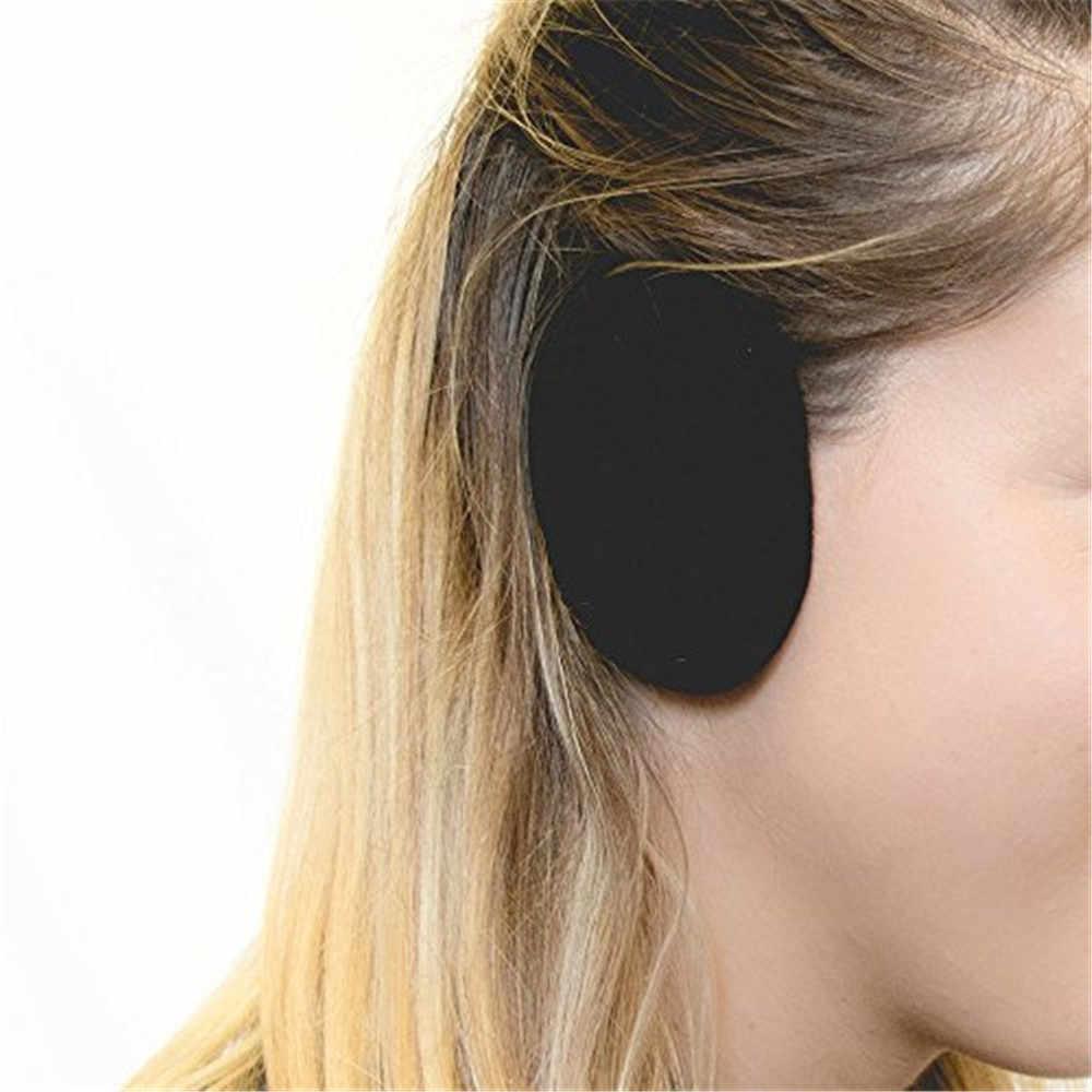 イヤーマフソフトイヤーウォーマー耳マフ冬カバー 1 ペア大人女性男性 Earbags Bandless 耳ウォーマー快適イヤーマフ耳カバー l50C