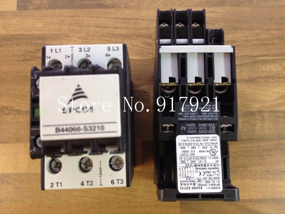 все цены на [ZOB] original EPCOS Epp Kos B44066-S3210 220V imported capacitor contactor  --2pcs/lot онлайн