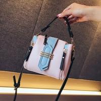 2019 fashion brand new belt buckle Wide shoulder strap luxury designer shoulder bags crossbody PU leather Women's Handbag
