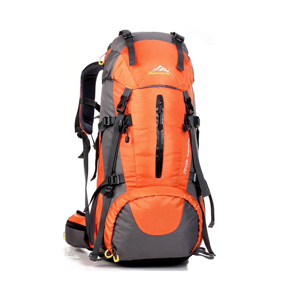 50l Large Waterproof Travel Bags Rucksack Men Nylon